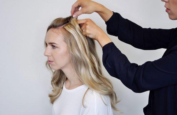 Zopf Ideen Damen Haarschnitte modern Wasserfall Frisur