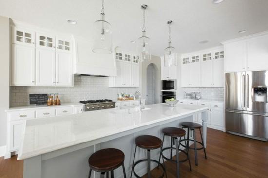 alabaster kücheninsel interior wohntrend