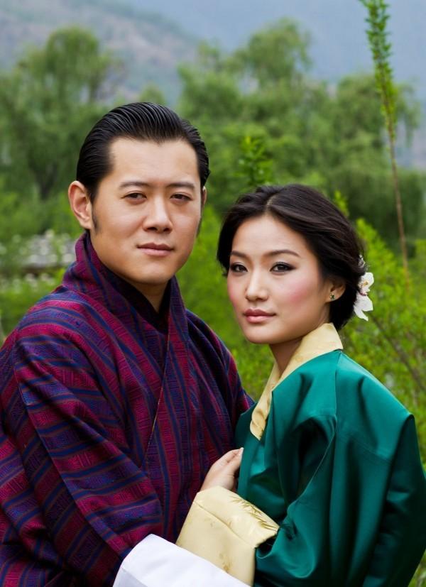butan land der könig und die königin
