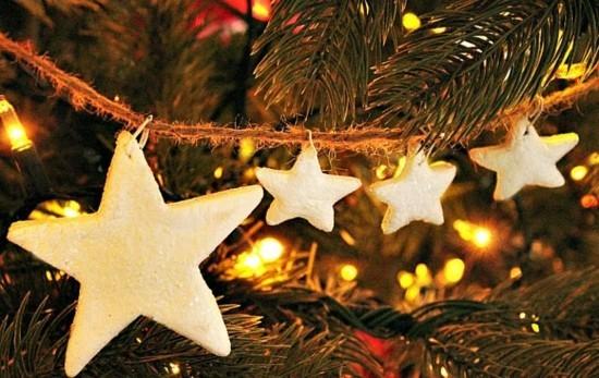 diy weihnachtsdeko aus kaltporzellan selber machen