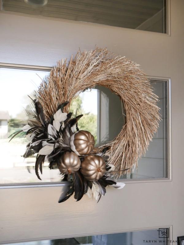 elegante idee weihnachten deko weihnachtskranz