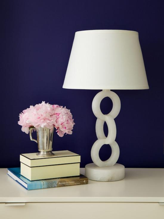 elegante tischlampe aus alabaster