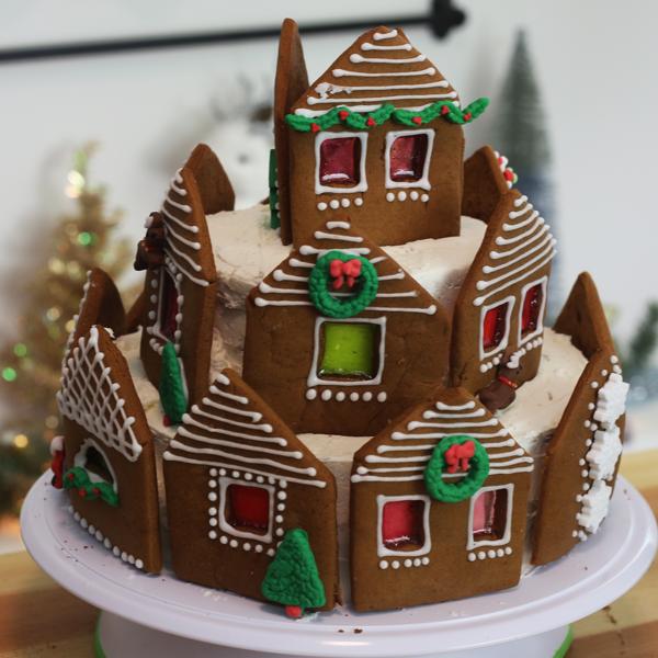 essbares Lebkuchenhaus machen Ideen Lebkuchenrezept