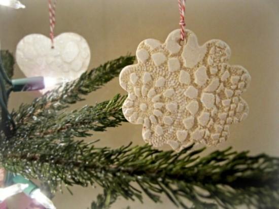 kaltporzellan fimo ideen zu weihnachten