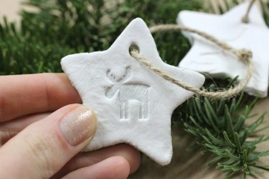 kaltporzellan selber machen weihnachtsbasteln