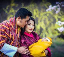 Die Königsfamilie von Bhutan erwartet ihr zweites Kind im kommenden Jahr 2020