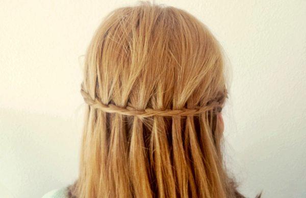 langer Haarschnitt - tolle Ideen für Wasserfall Frisur