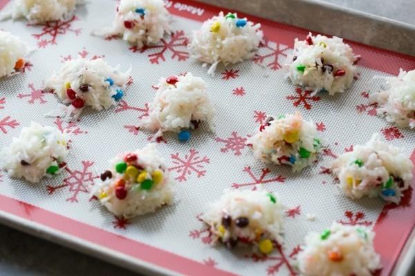 mms kokosmakronen weihnachtliches dessert
