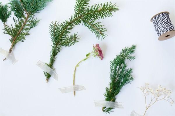 nachhaltige weihnachten naturmaterialien