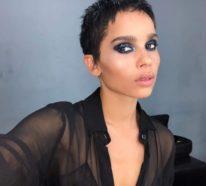 Zoë Kravitz ändert radikal ihren Look durch einen kurzen Pixie-Haarschnitt