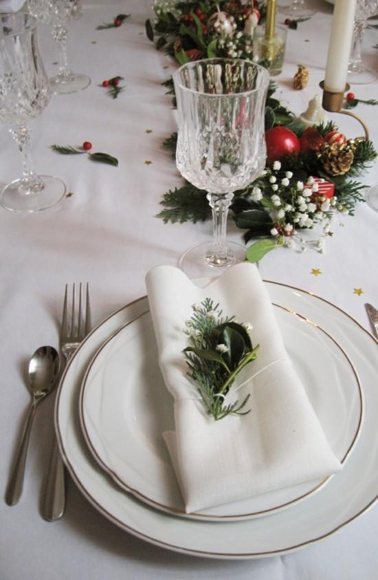 servietenringe weihnachten puristisch