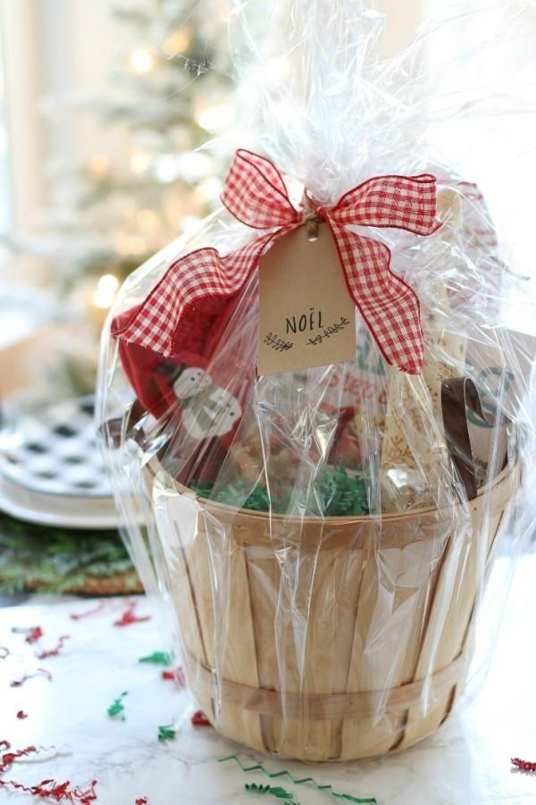 tolle Ideen - weihnachten Ideen DIY Geschenkkorb