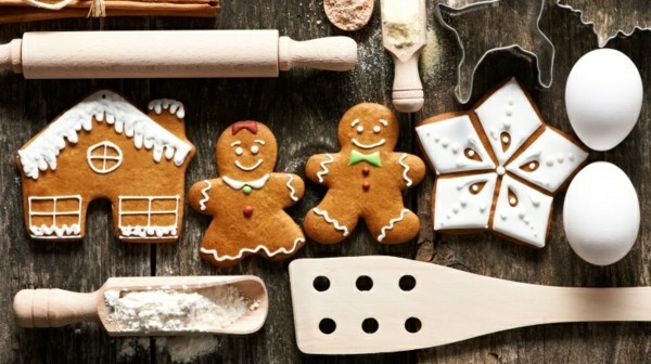 vegane Lebkuchen zu Weihnachten Lebkuchenrezept Pfefferkuchen