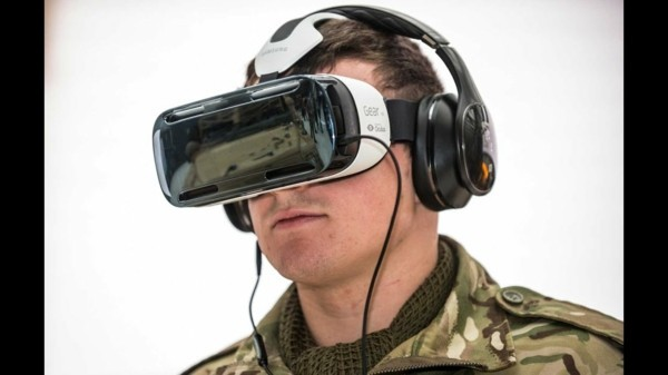 virtual reality militär training