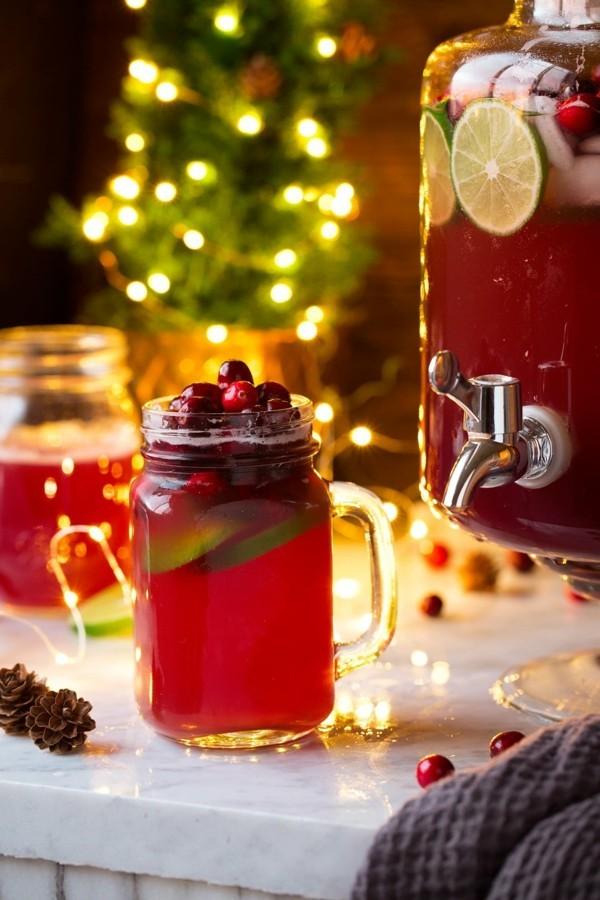 weihnachten silvester bowle ohne alkohol