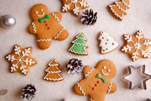 weihnachtliche Lebkuchen Plätzchen Lebkuchenrezept Pfefferkuchen backen