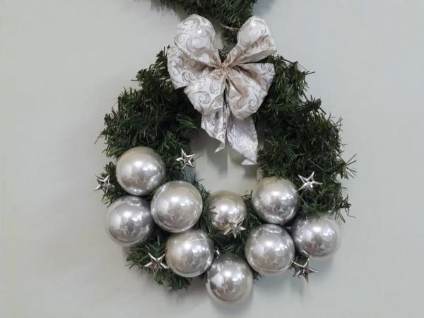 weihnachtskranz tür kranz weihnachten deko