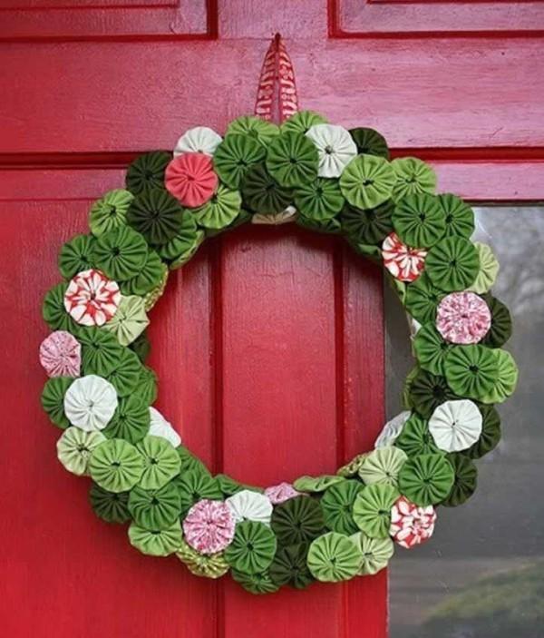 weihnachtskranz - tolle gestaltung - weihnachten ideen