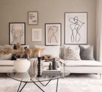 Aktuelle Farbpaletten im Wohnzimmer – was ist im Jahr 2020 in?