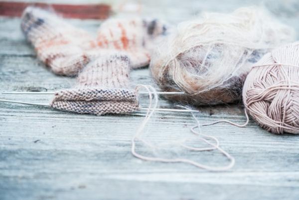 Angora Wolle Faser Garn Eigenschaften Angorakaninchen Strickwaren