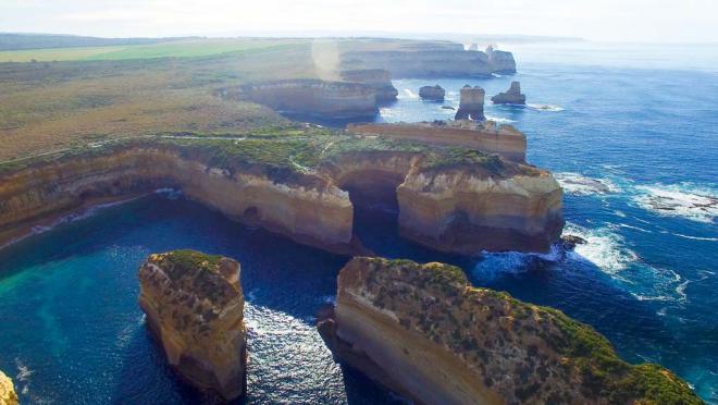 Australien 7 Sehenswürdigkeiten Great Ocean Road Große Ozeanstraße beliebtes Reiseziel