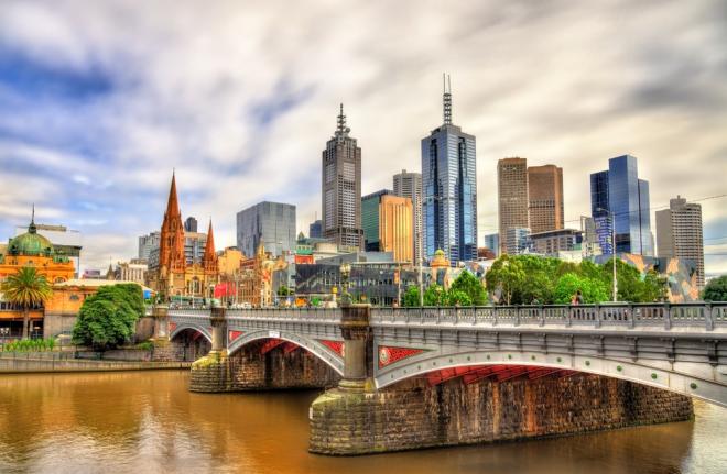 Australien 7 Sehenswürdigkeiten Melbourne die Kulturmetropole des Landes