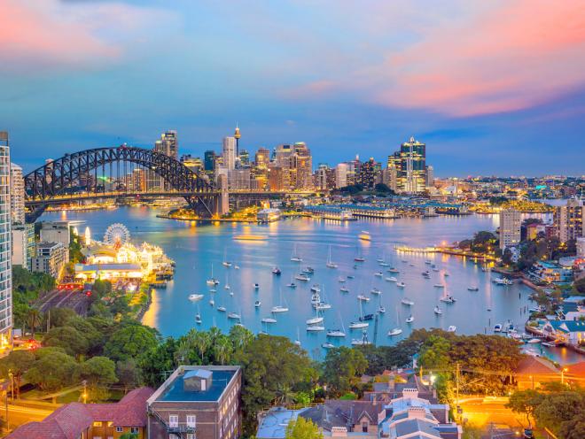 Australien 7 Sehenswürdigkeiten Sydney die größte Stadt des Landes