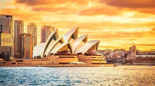 Australien 7 Sehenswürdigkeiten die Oper von Sydney Symbol des Landes