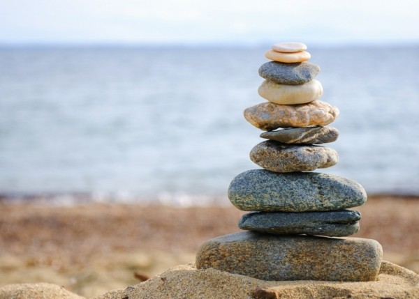 Autogenes Training Entspannungstechnik Tipps Meer Steine