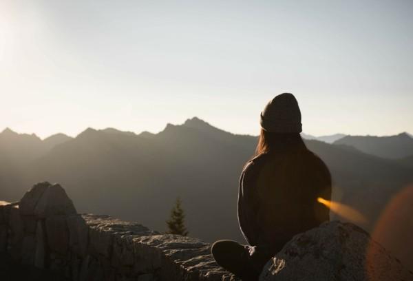 Autogenes Training Gebirge Natur Ruhe