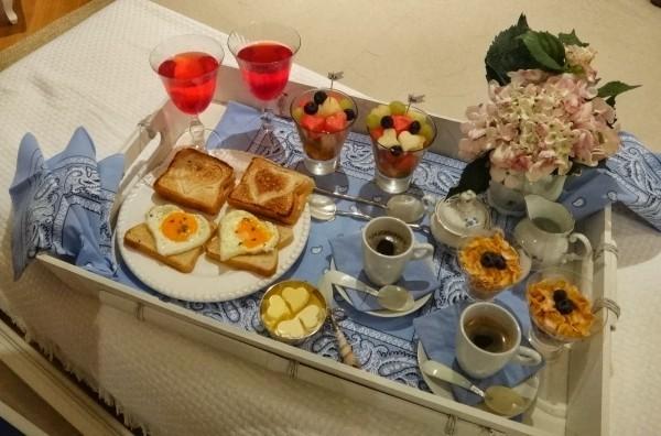 Brot und Käse Ideen - Valentinstag Frühstück