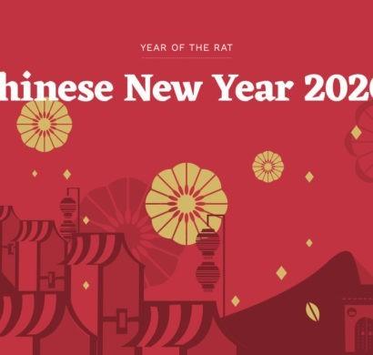 mond-neujahr, frühlingsfest 2020