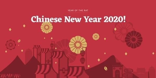 Chinesisches Neujahr 2020 Datum Januar Neumund