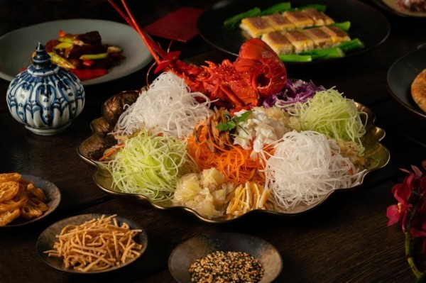 Chinesisches Neujahr 2020 traditionelles Abendessen