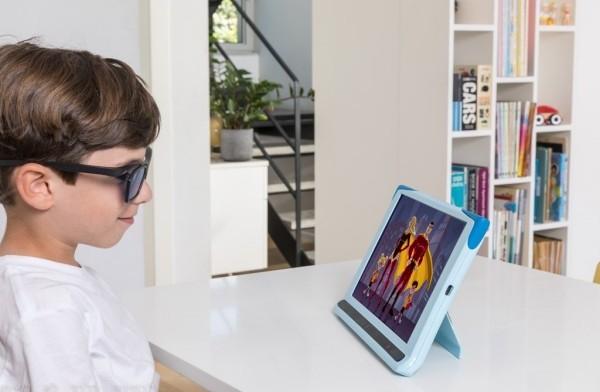 CureSight ist ein geniales System, das Schwachsichtigkeit durch Fernsehen heilt fernsehen und augen heilen