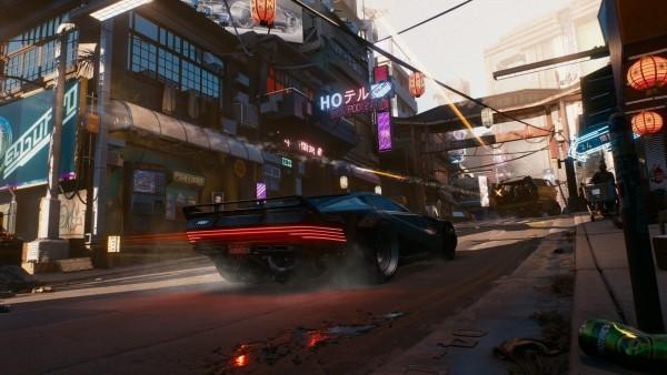 Cyberpunk 2077 Alles was wir bisher wissen Fahrzeug in Night City Auto