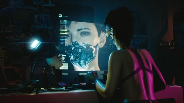 Cyberpunk 2077 Alles was wir bisher wissen Modifikationen am Körper Gesicht Videospiel Trailer