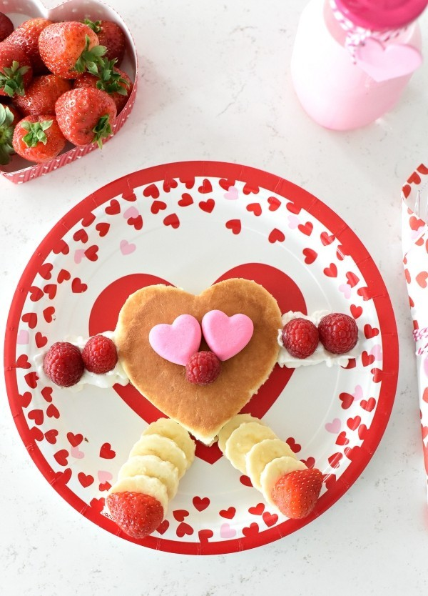Früchte Ideen Valentinstag Frühstück