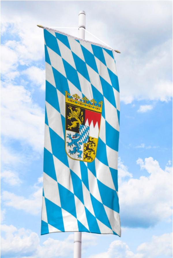 Gartenfahnen und Flaggen Bundeslandfahnen Bayer