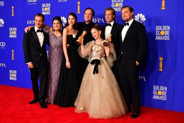 Golden Globe Awards 2020 Quentin Tarantino Brad Pitt Leonardo DiCaprio und weitere Schauspieler