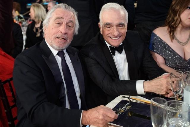 Golden Globe Awards 2020 Robert DeNiro und Martin Scorsese