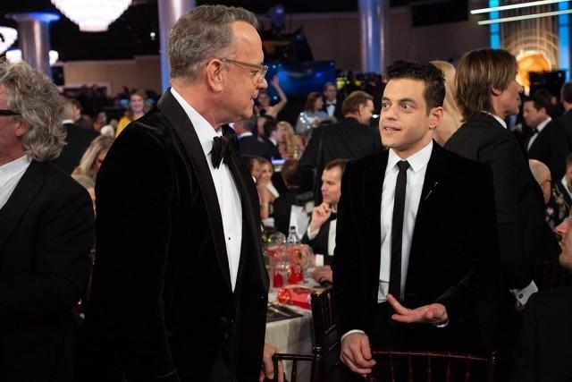 Golden Globe Awards 2020 Tom Hanks und Rami Malek im Gespräch