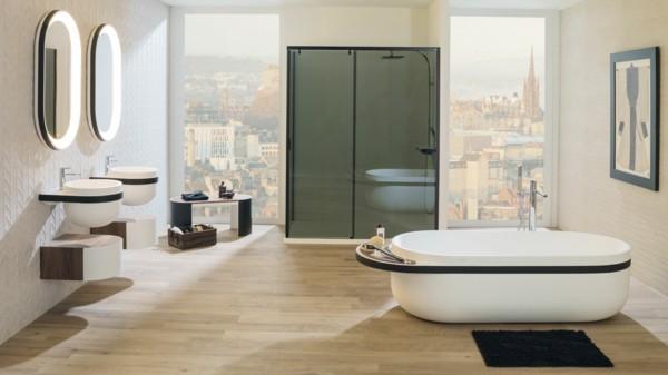 Japandi Badezimmer gestalten Wohntrends 2020 Inneneinrichtung Ideen