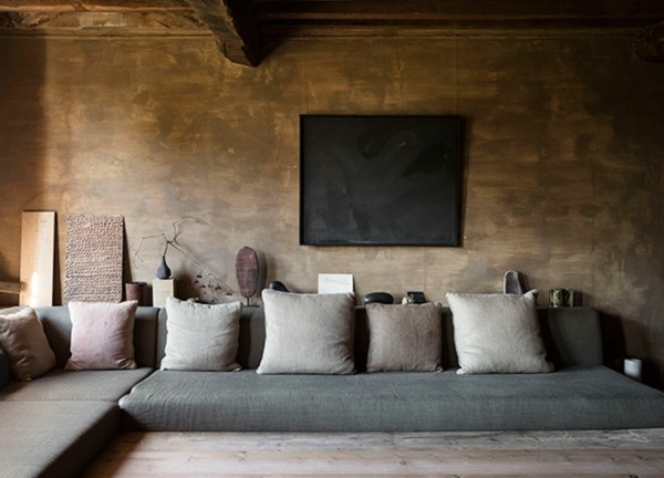 Japandi Wohntrends 2020 Boden Sofa Inneneinrichtung Ideen