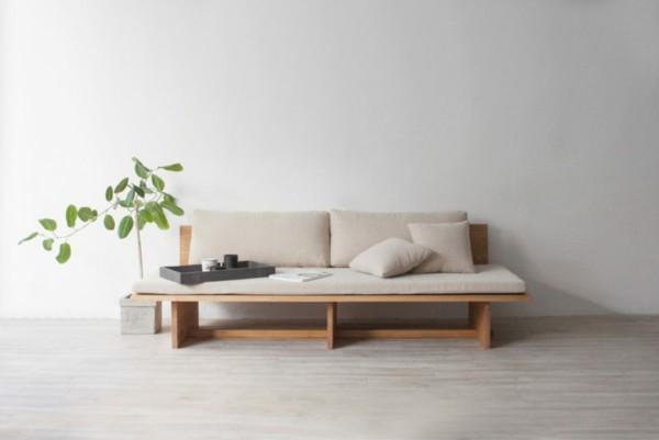 Japandi Wohntrends 2020 Möbel Sofa Inneneinrichtung Ideen