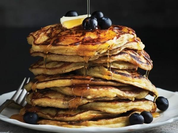 Kichererbsenmehl Kichererbsen Pfannkuchen gesunde Ernährung glutenfrei