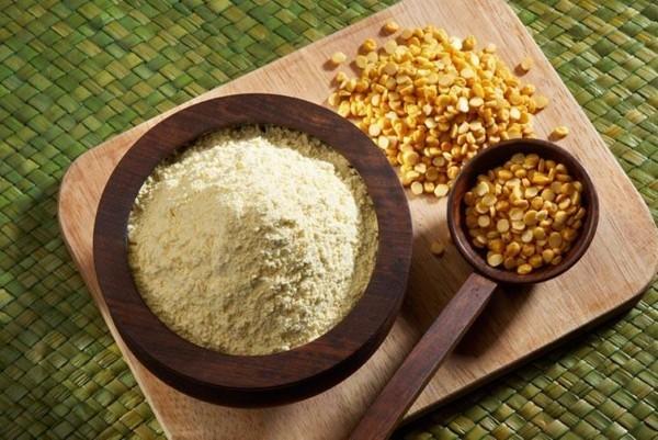 Kichererbsenmehl Kichererbsen Produkte gesunde Ernährung