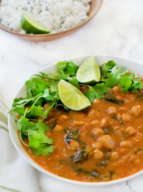 Kichererbsenmehl indische Küche Kichererbsen gesunde Ernährung glutenfrei