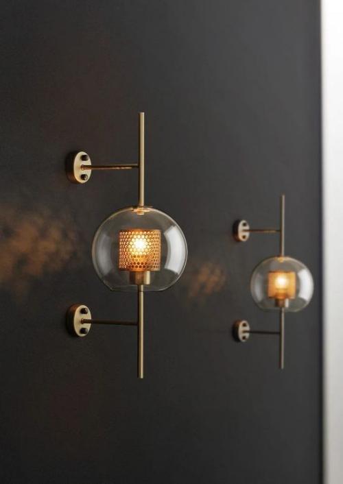 Modernes Licht im Bad trendiges Design schicke Wandleuchten auffallend schön