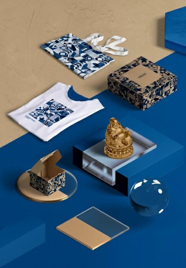 Pantone Farbe des Jahres 2020 Classic Blue Accessoires
